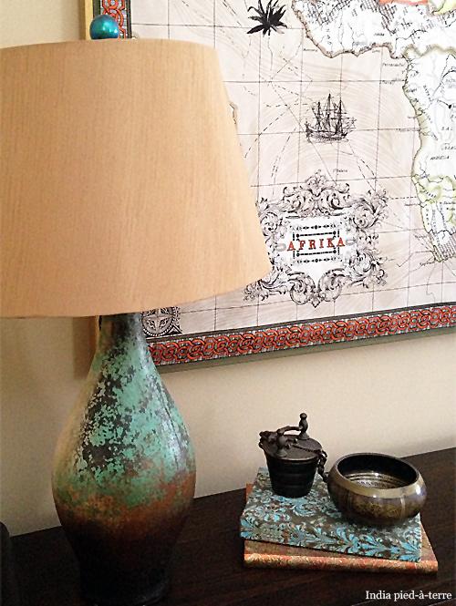 Nail Polish Painted Lamp Finial