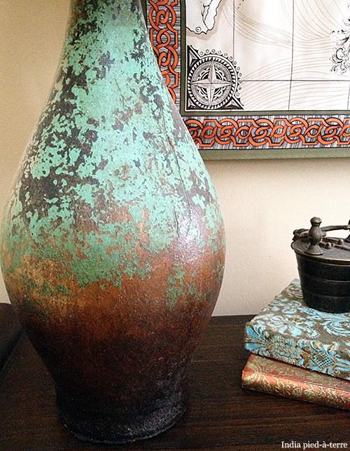 Vase-as-Lamp-Base