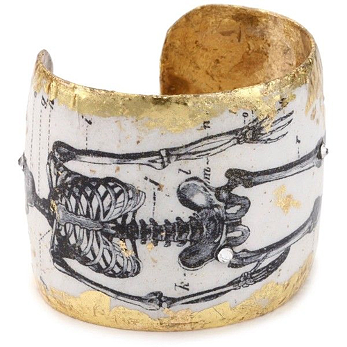 Evocateur Catacombs Skeleton Cuff