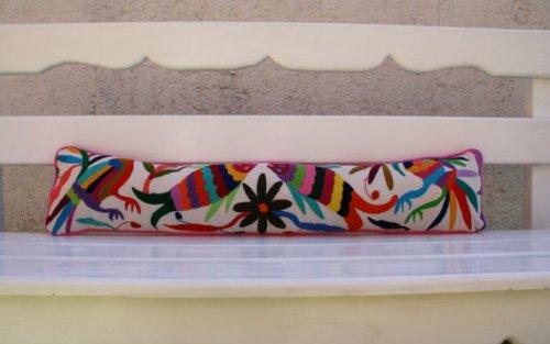 Otomi Lumbar Pillow via CasaOtomi