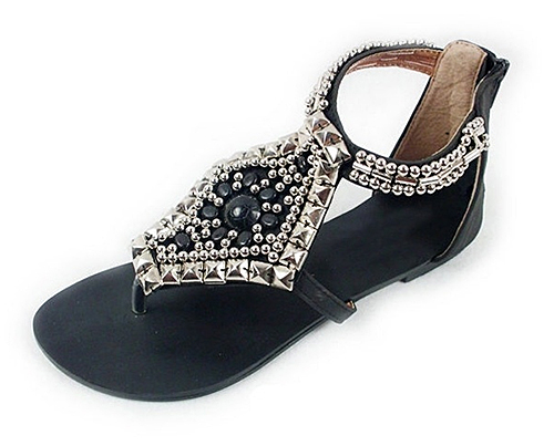 Beaded Sandals from Oasap