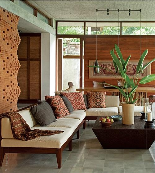 Indonesian Textiles in Contemporary Setting via Interiors