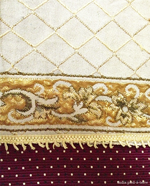 Fabrics in Living Room of India Home