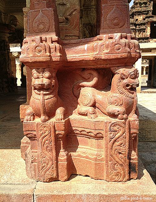 Nandi Hills Bhoga Nandeeshwara Temple Carvings