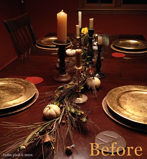 This Autumn Dining Table Setting Is Missing Something - A Textile