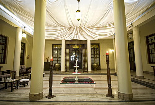 Interior Courtyard in spa.ce the spa in Bangalore