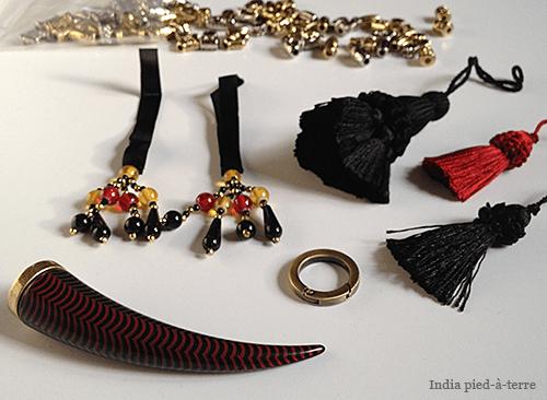 Supplies to Make DIY Tassel Bundle