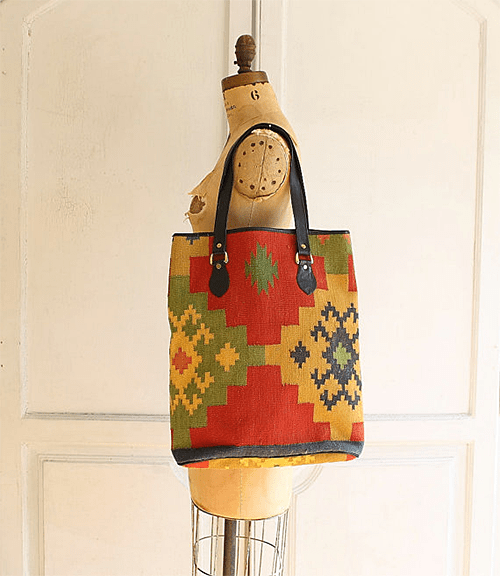 Carpet Bag via Etsy Shop Bohemiennes