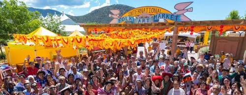 International Folk Art Market in Santa Fe