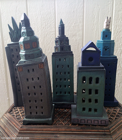 Silly Ceramic Buildings