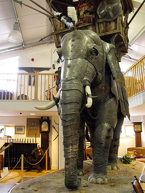 Elephant Suit of Armor