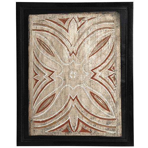 Toraja Panel Framed at Andrianna Shamaris