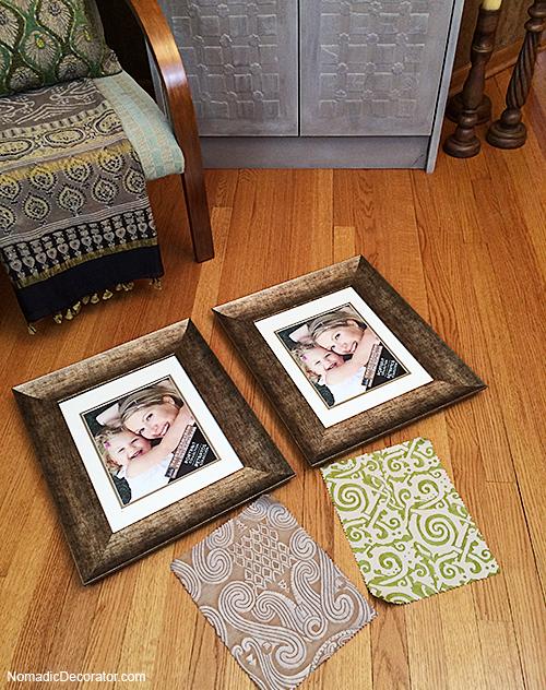 Framing Fortuny Fabrics