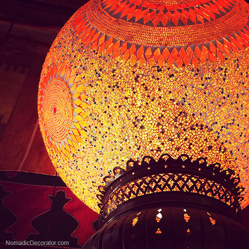 Sequin Light in Mustapha Blaoui Store