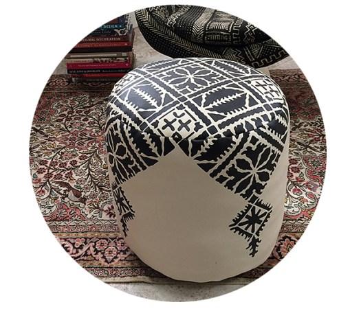 Fez Moroccan Pouf