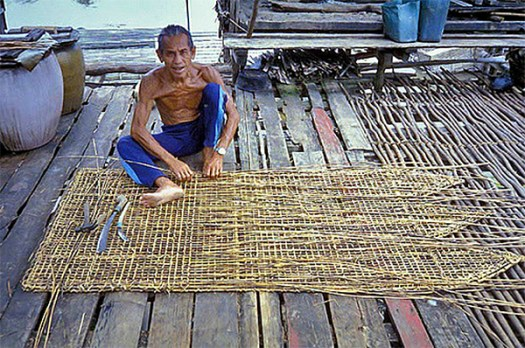 Fish Trap Assembly in Indonesia via Petcha2 on Flickr