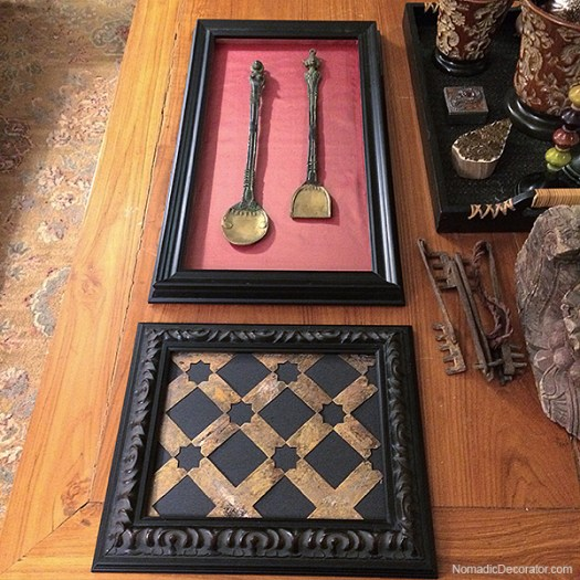 Picture Frame with Silk Lining