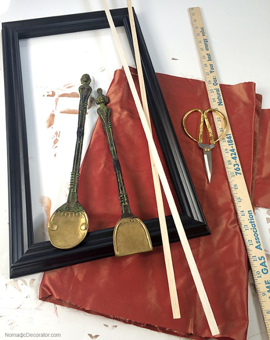 Silk-Lined Picture Frame Supplies