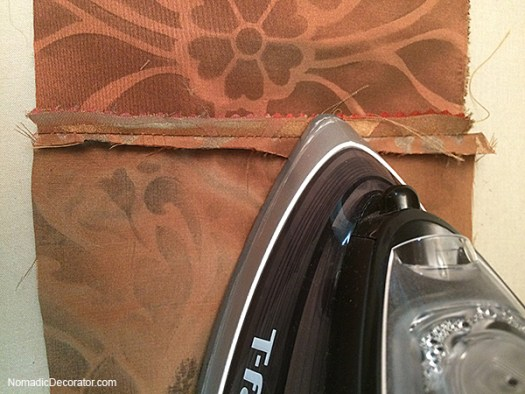 Ironing Seams Flat
