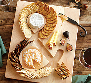 Ampersand Cheese and Crackers Board