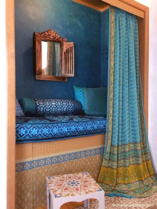 Moroccan Closet Nook