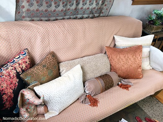 Pillows on Futon