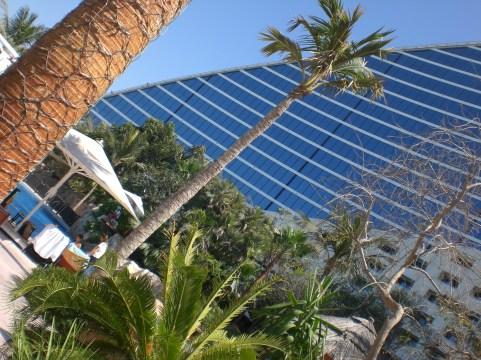 Hotel at Jumeirah beach
