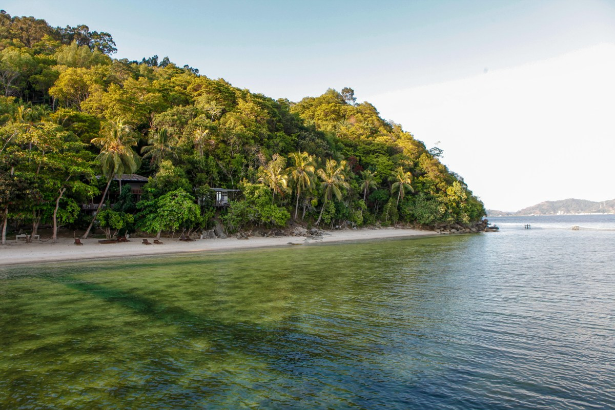 sepanggar island