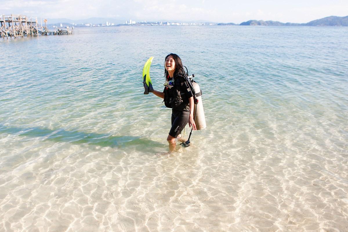 sepanggar island scuba diving