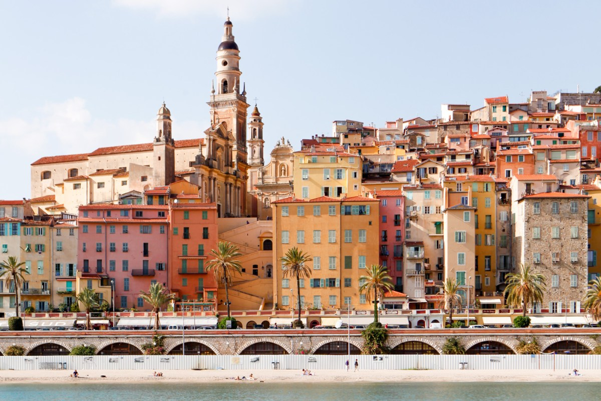 Nomadic Fare in Menton, France