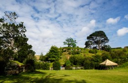Nomadic Fare at Hobbiton Movie Set, New Zealand