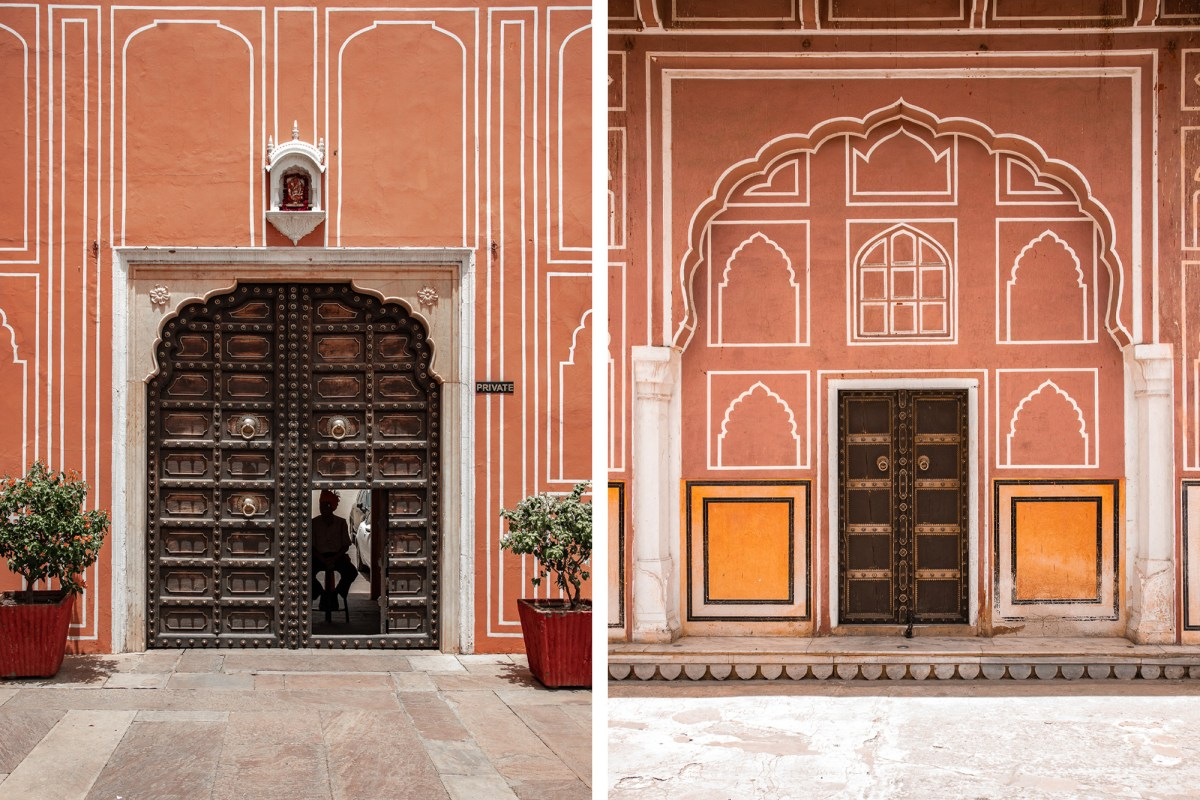 The City Palace in Jaipur, India