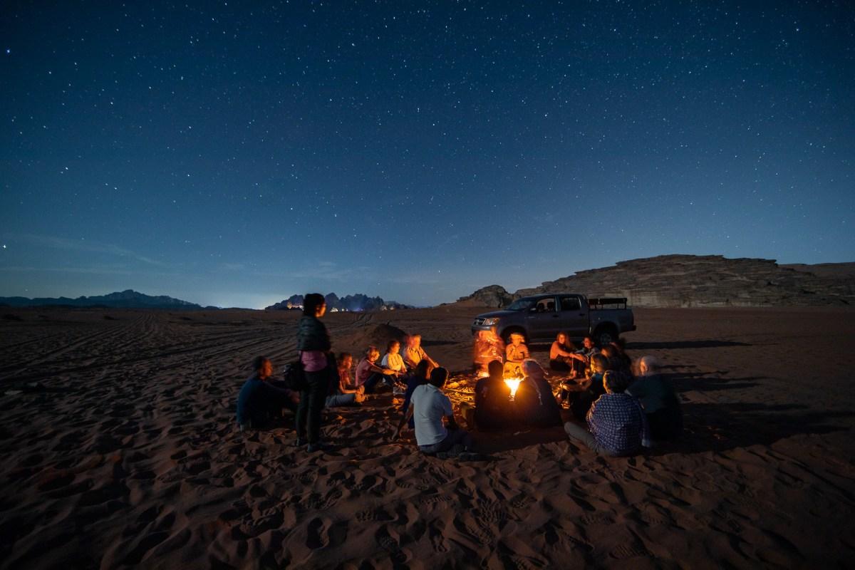 Desert Camp in Wadi Rum, Jordan