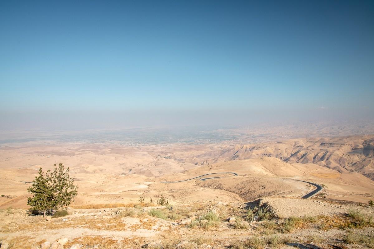 Nomadic Fare in Mount Nebo, Jordan