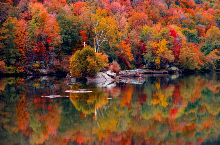 Fall colors in West Virginia