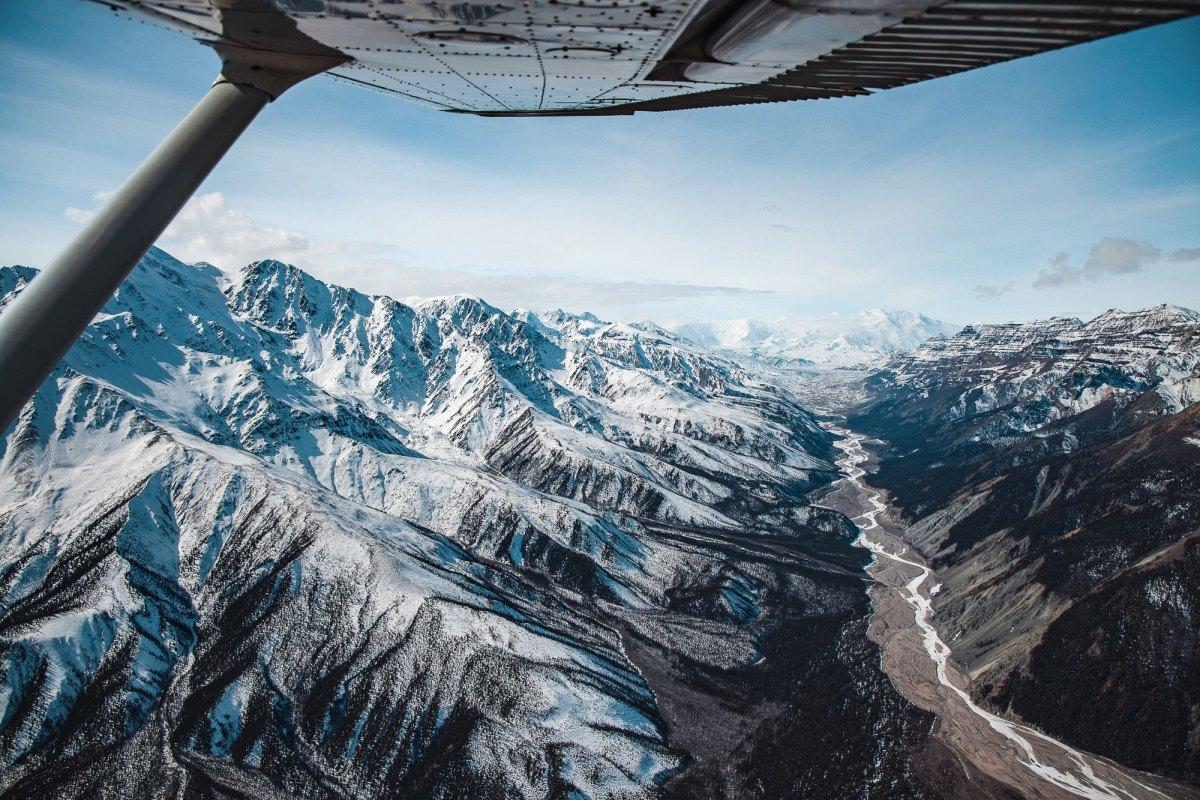 Nomadic Fare in Yukon, Canada Kluane National Park