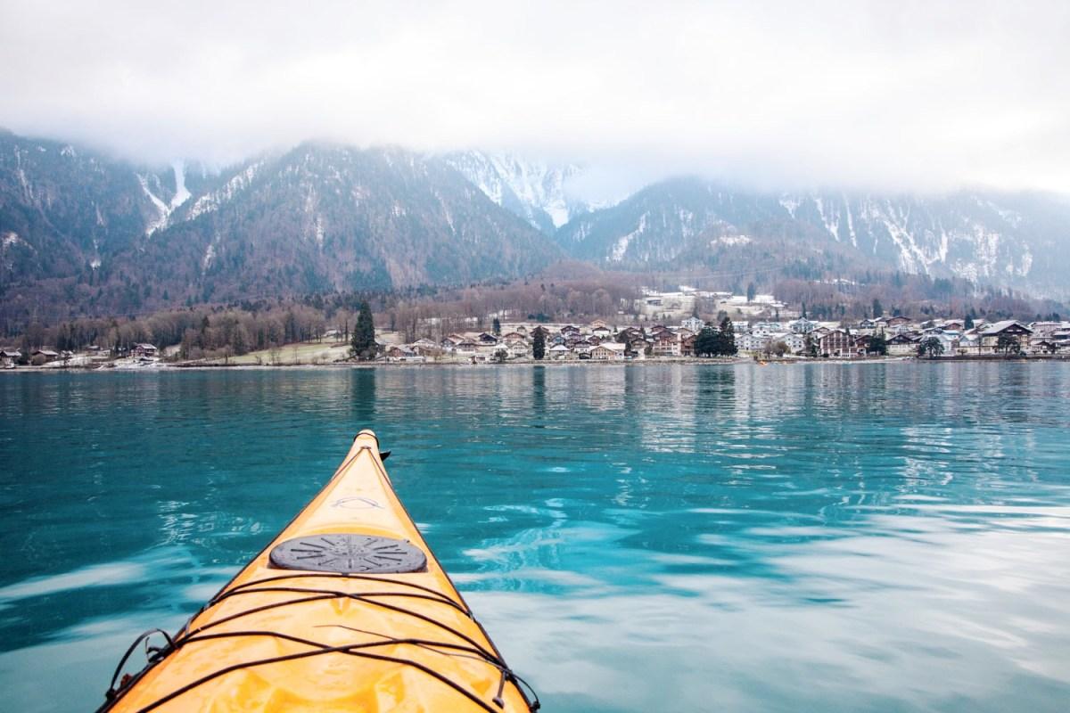 Kayaking in Interlaken