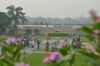 Gandhi's memorial site.