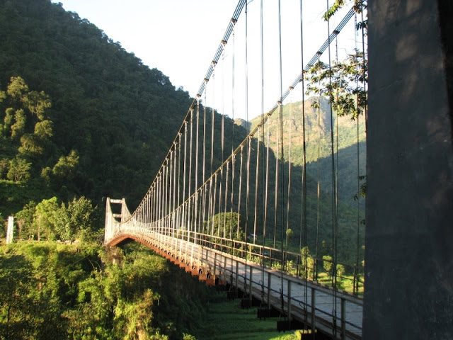 A Lonely Bridge Enroute Yuksom