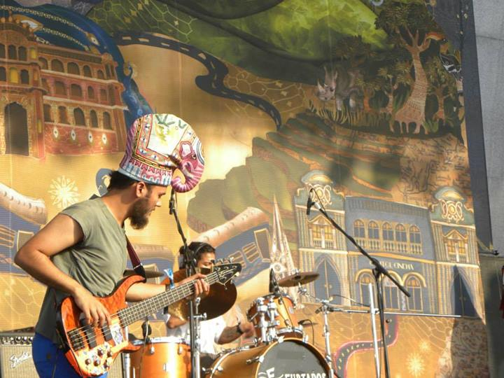 Maati Baani and the elephant hat