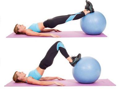 Medicine Ball Hamstring