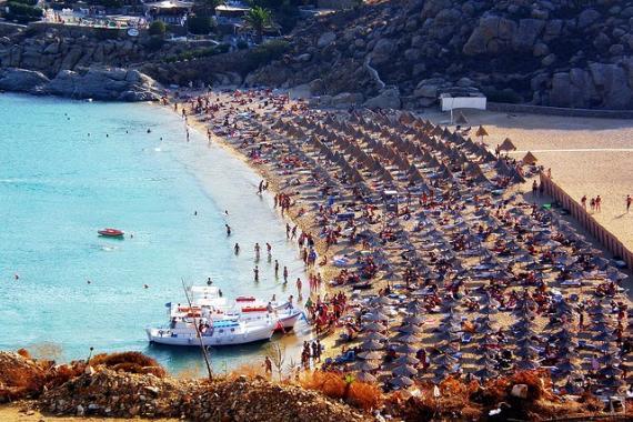 super paradis beach, mykonos