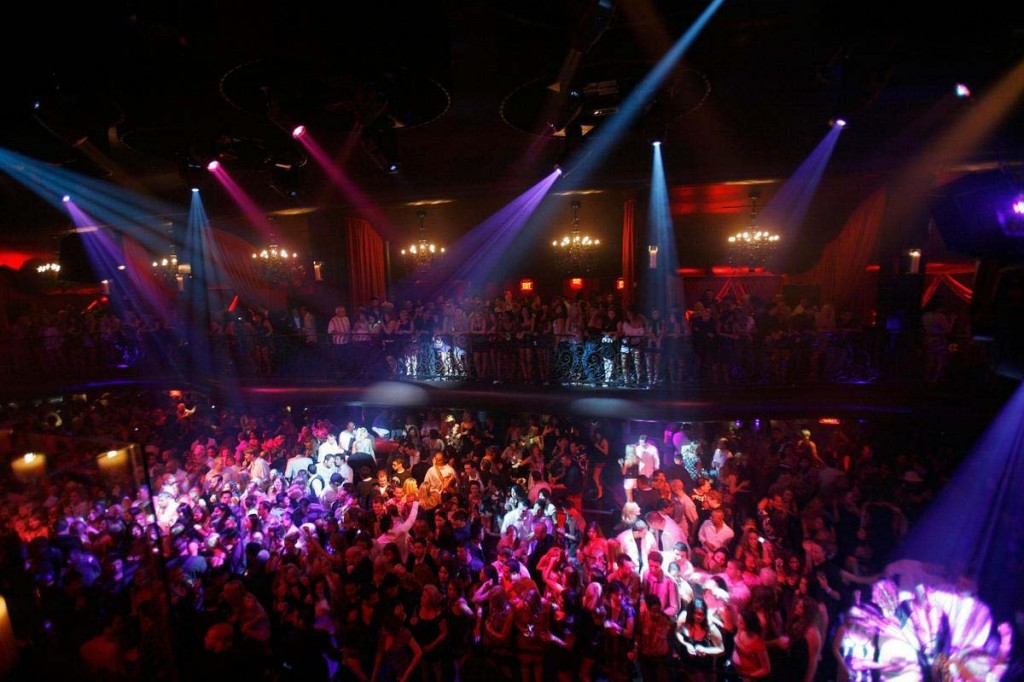 bank nightclube, vegas