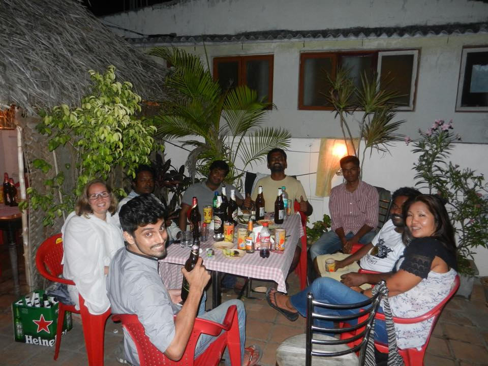A Cosmopolitan Evening in Pondicherry