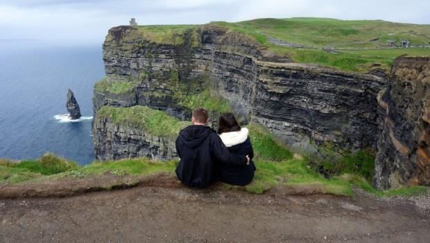 cliffs of moher, aussie flashpacker
