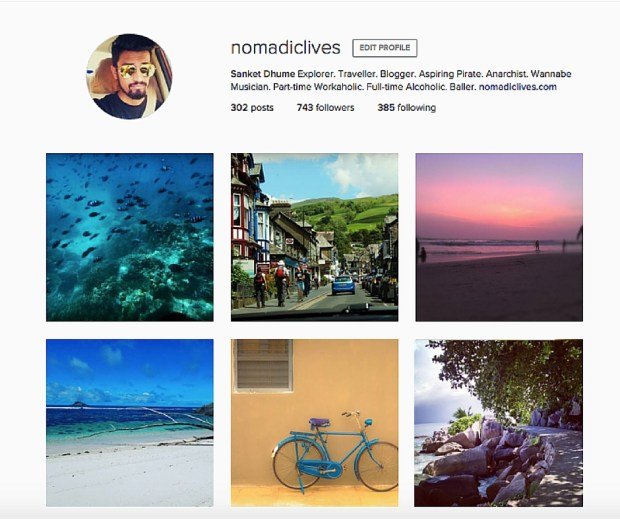 Nomadic Lives Instagram