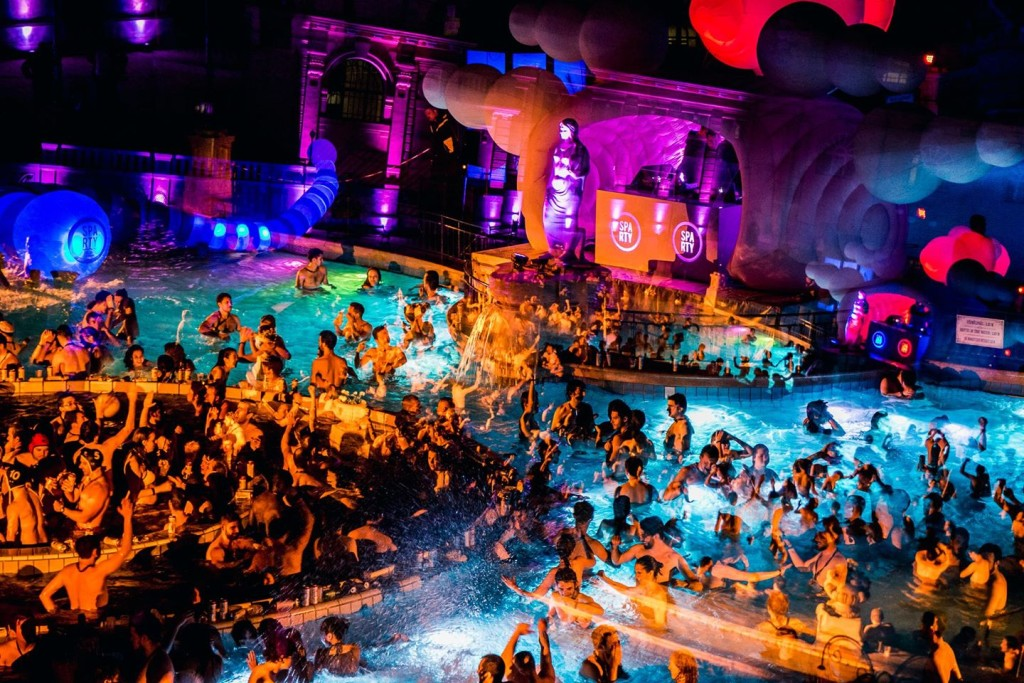 Spa Party Budapest