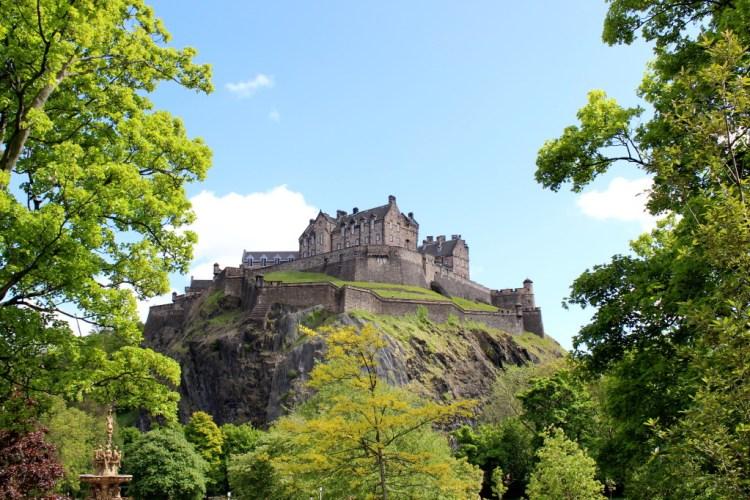 Edinburgh Castle Ⓒ Nomadic Love