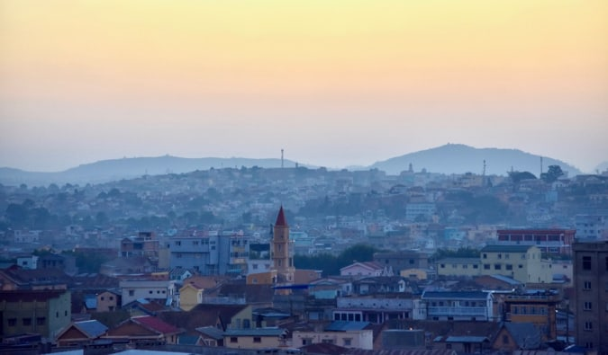 The capital of Madagascar