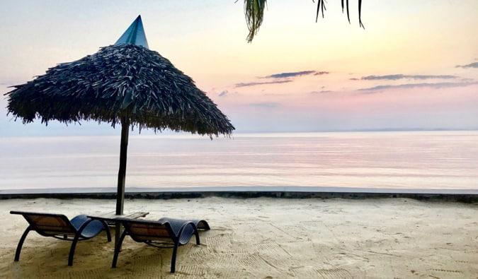 A beach in Madagascar